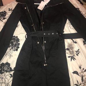 Long black jacket